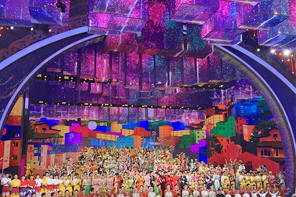 对话cctv_2019 CCTV Spring Festival Gala - Led displays, screen, panel, wall,Shenzhen Luxon ...
